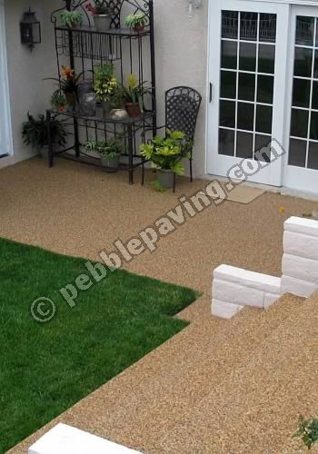 Pebble Paving Features
