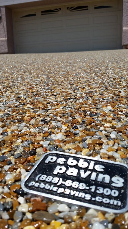 Pebble Paving Glossary - Epoxy stone flooring reviews