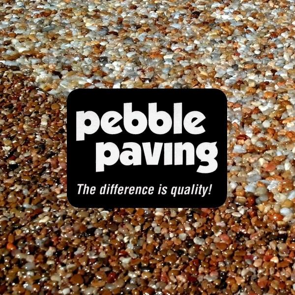 Pebble Paving